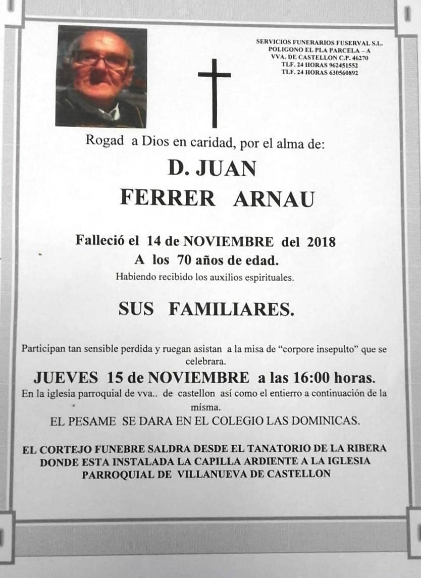 JUAN FERRER ARNAU