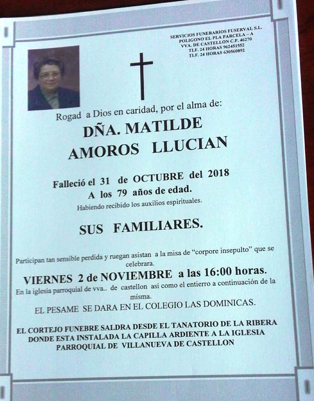 MATILDE AMOROS LLUCIAN