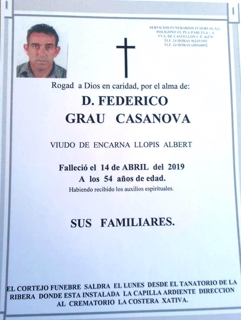 FEDERICO GRAU CASANOVA