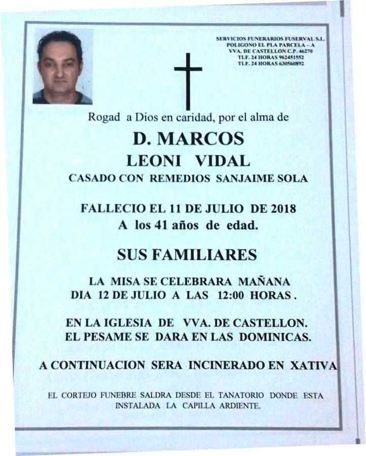 MARCOS LEONI VIDAL