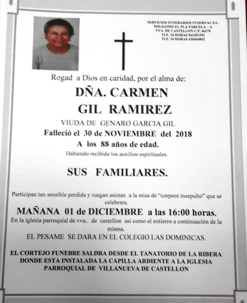 CARMEN GIL RAMIREZ