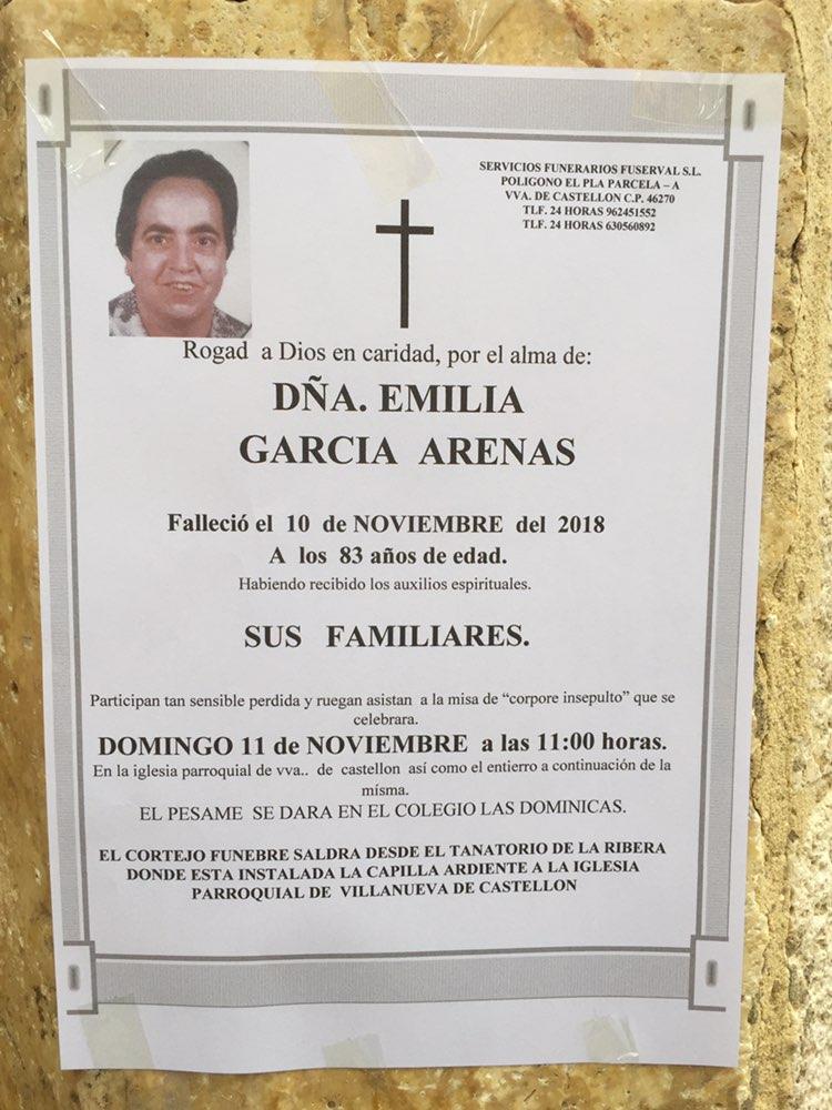 EMILIA GARCIA ARENAS