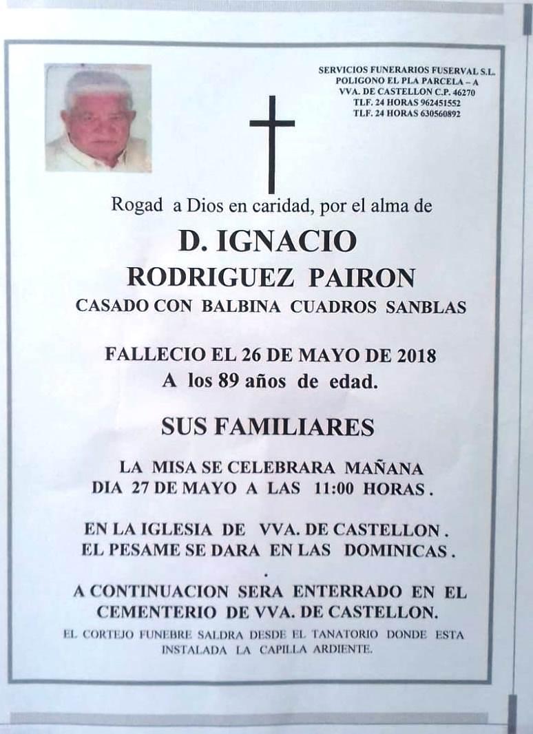 IGNACIO RODRIGUEZ PAIRON