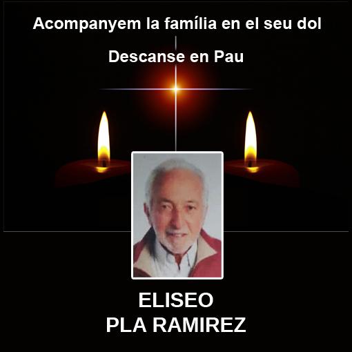 Missa per ELISEO PLA RAMIREZ