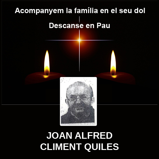 JOAN ALFRED CLIMENT QUILES
