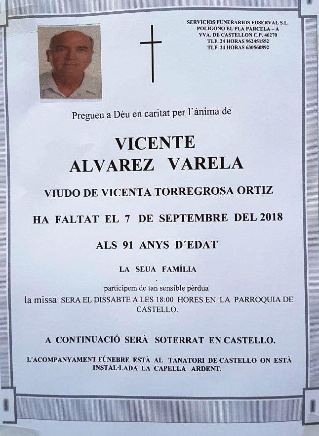 VICENTE ALVAREZ VARELA