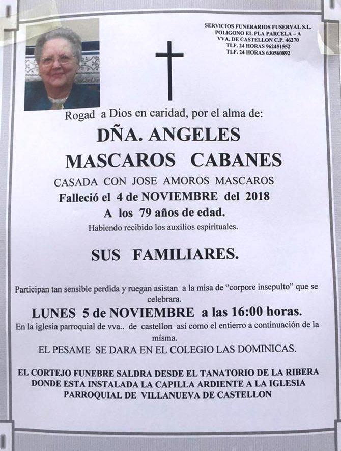 ANGELES MASCAROS CABANES