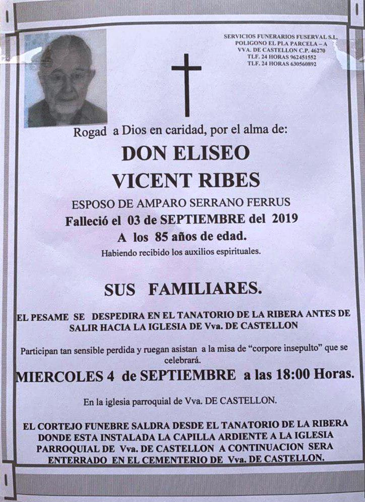 ELISEO VICENT RIBES