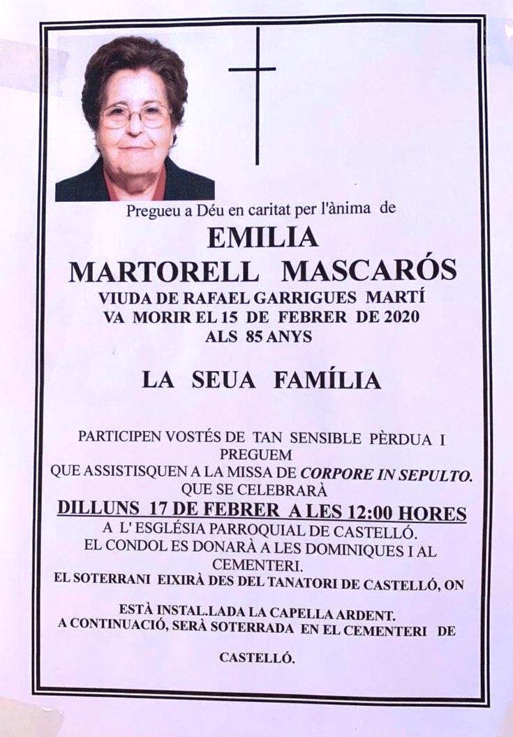EMILIA MARTORELL MASCARÓS