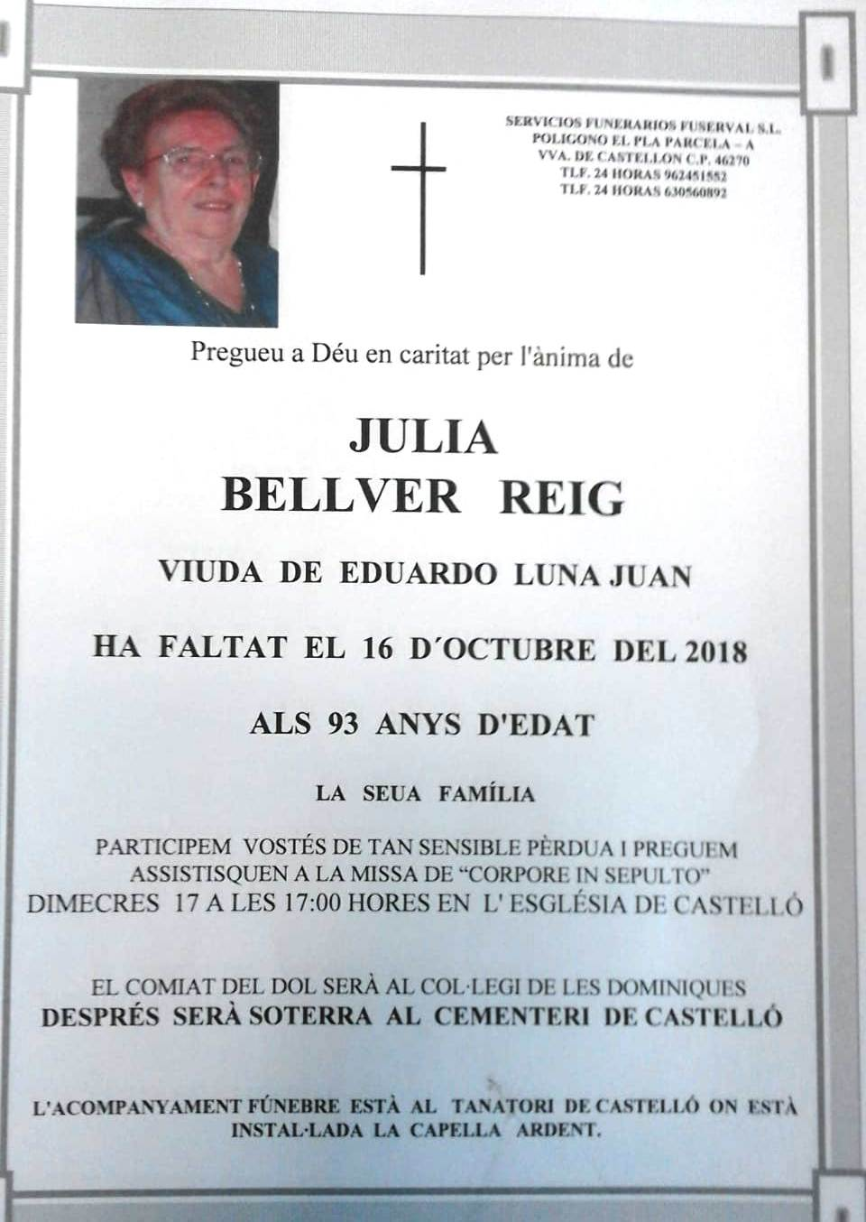 JULIA BELLVER REIG