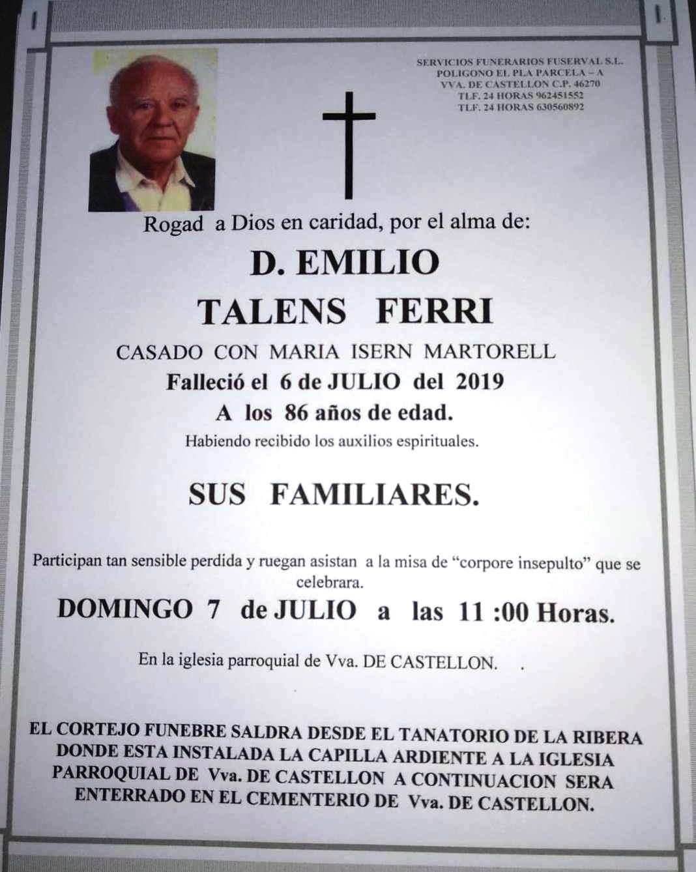 EMILIO TALENS FERRI