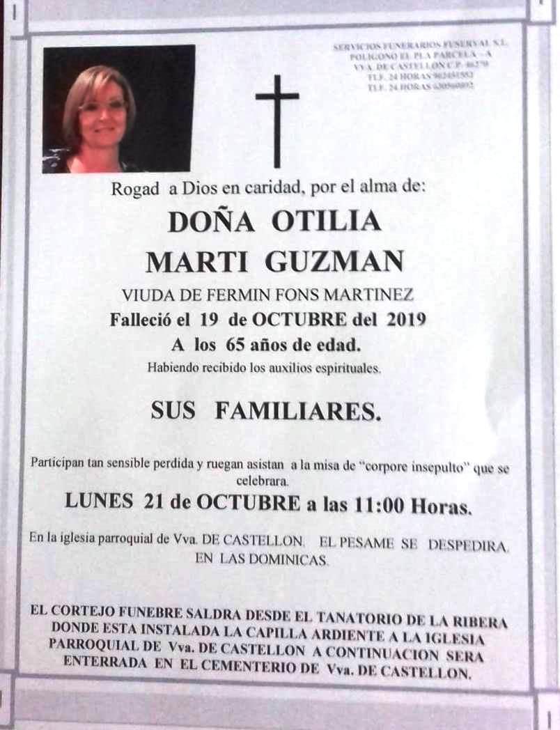 OTILIA MARTI GUZMAN
